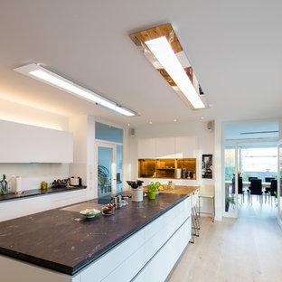 Cucina con top in marmo Monaco di Baviera: Foto e Idee per ...