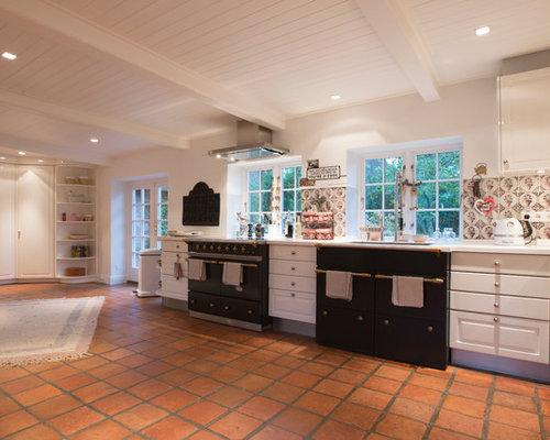 Küche mit bunter Rückwand - Ideen & Bilder