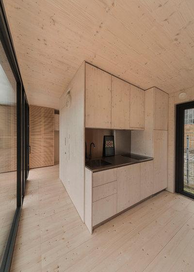 Architektur 19 qm wohnen im serienm ig produzierten for Was bedeutet minimalistisch