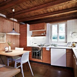kuchen ideen weisse rustikale kuche, rustikale küchen ideen, design & bilder | houzz, Kuchen
