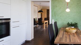 gemütliche Küche mit Ausblick