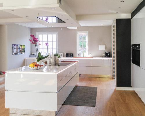 Grifflose Küche Mit 12mm Silestone Arbeitsplatte