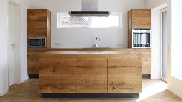 Ich glaub', ich steh' im Wald: 17 moderne Holzküchen