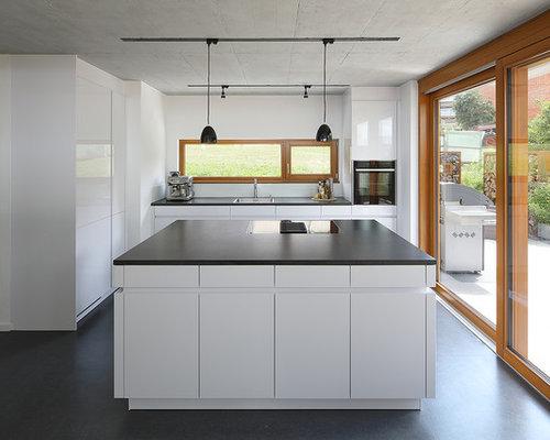 Küchen mit Vinylboden Ideen, Design & Bilder | Houzz