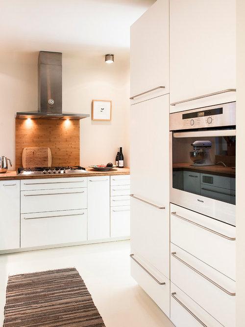 Küchen Mit Rückwand Aus Stäbchenfliesen Ideen, Design & Bilder | Houzz