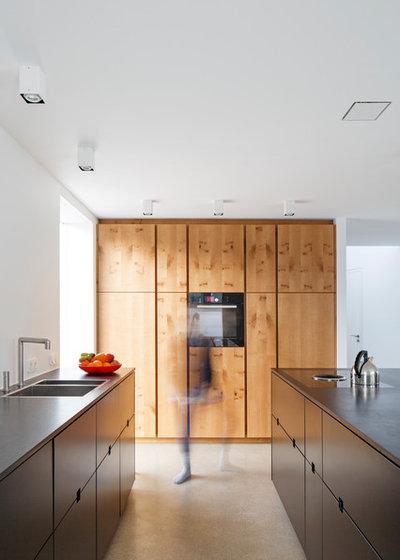 Contemporáneo Cocina by falke architekten