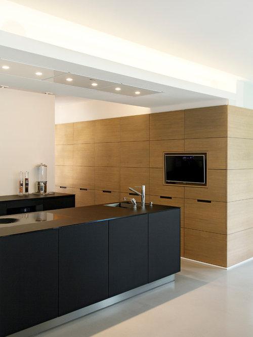 moderne k chen mit waschbecken ideen bilder. Black Bedroom Furniture Sets. Home Design Ideas