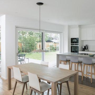Esszimmer, Küchenbereich, Terrasse