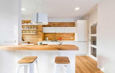 Vorher-Nachher: Eine Einlieger-Wohnung wird zur neuen Küche