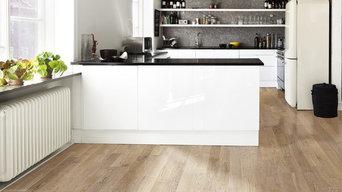 helles Parkett für eine moderne Küche