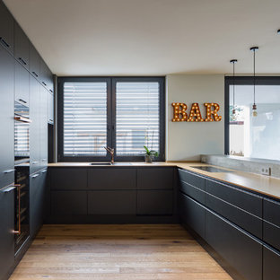 Moderne Kuchen In U Form Ideen Design Bilder Houzz