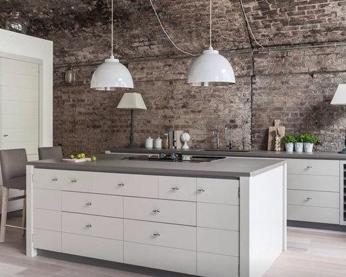 Kücheninsel landhausstil  Landhausstil Küche mit Kücheninsel - Ideen & Bilder