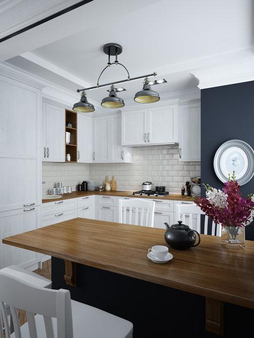 Großartig Houzz Kleine Küche Ideen Fotos - Küchenschrank Ideen ...