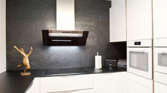 Individuelle Küche auf kleinstem Raum
