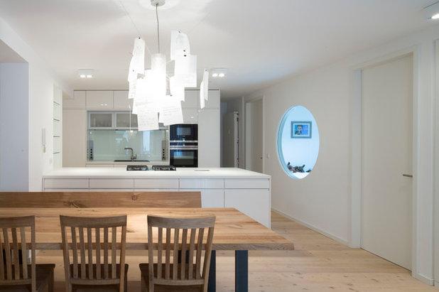 Minimalistisch Küche by pur architekten petri und raff PartGmbB