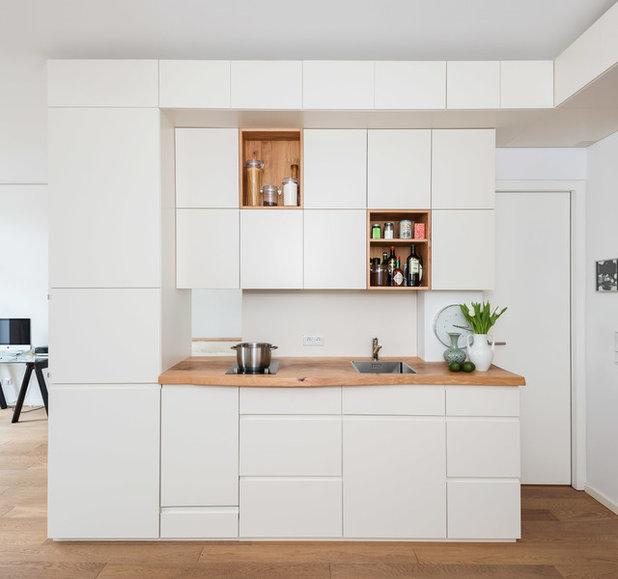 pantryk che gestalten 8 inspirierende kleine k chenzeilen. Black Bedroom Furniture Sets. Home Design Ideas
