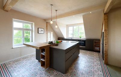 Robust, aber wohnlich: Welchen Küchenboden soll ich wählen?