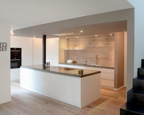 Stunning Küchenzeile Ohne Hängeschränke Pictures ...