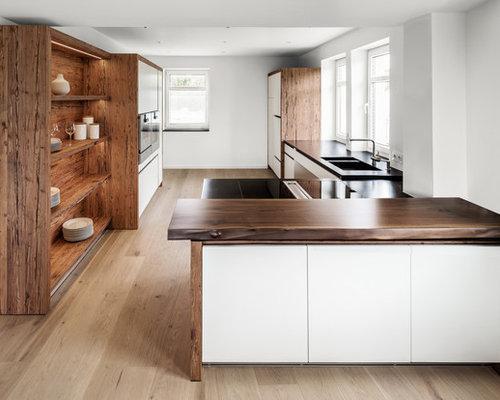 kuchen ideen weisse rustikale kuche, rustikale küchen mit küchenrückwand in weiß ideen, design & bilder, Kuchen