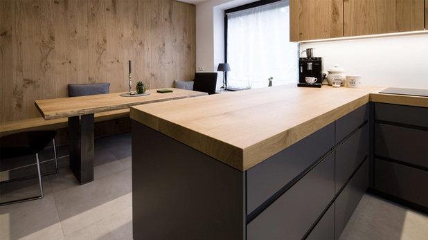 Minimalistisch Küche by Held Schreinerei   Interior Design