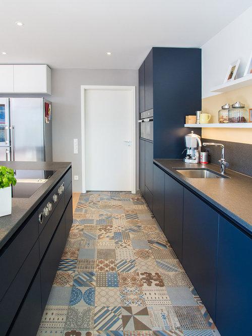 zweizeilige k che ideen bilder. Black Bedroom Furniture Sets. Home Design Ideas
