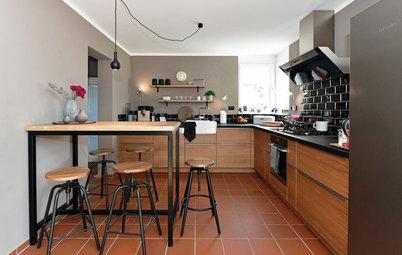 7 Küchen mit dunklen Details