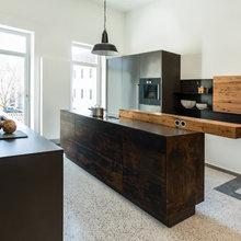Cocina de la semana: Acero y madera para un espacio industrial