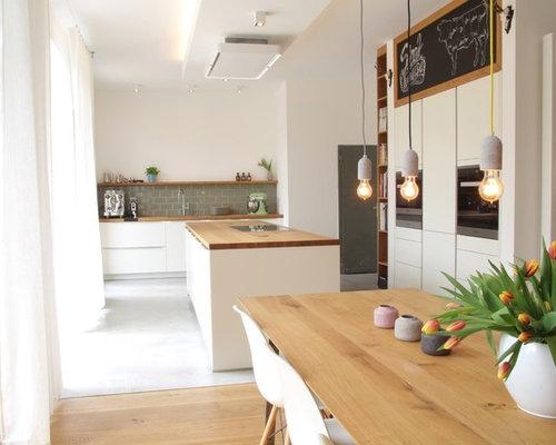 Cucina ad ambiente unico scandinava germania foto e idee per