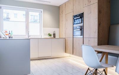 Skandinavisches Flair für eine Familienküche in Münster