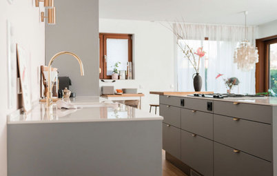 4 graue Küchen im Detail – von zart bis edel