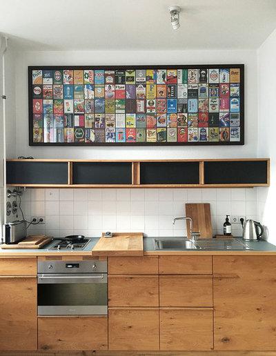Современный Кухня by Offcut Berlin