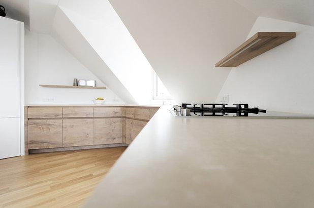 arbeitsplatten aus linoleum infos zu material und verarbeitung. Black Bedroom Furniture Sets. Home Design Ideas