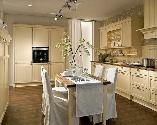 k chen im landhausstil. Black Bedroom Furniture Sets. Home Design Ideas