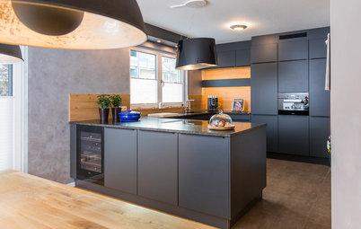 Perfektes Paar: Was passt zu schwarzen Küchenfronten?