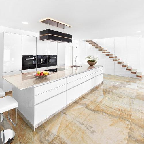 Küchen mit Quarzit-Arbeitsplatte Ideen, Design & Bilder | Houzz