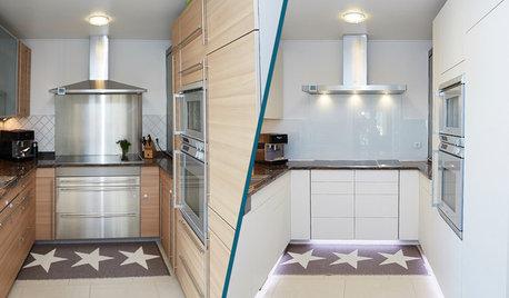 So können Sie alte Küchenfronten erneuern