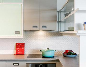 Küchenrenovierung im 50er Jahre Stil