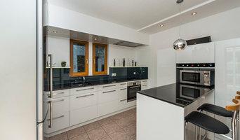 Küchentraum in Schwarz-Weiß