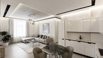 Küchentraum in Weiß