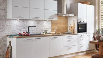 """Küchenzeile / Einbauküche nobilia elements """"Family"""", vormontiert, konfigurierbar"""