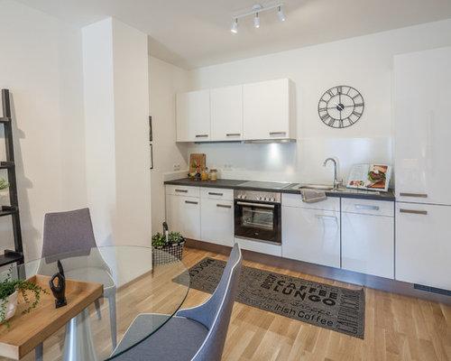 Moderne Küchen mit Laminat Ideen, Design & Bilder | Houzz