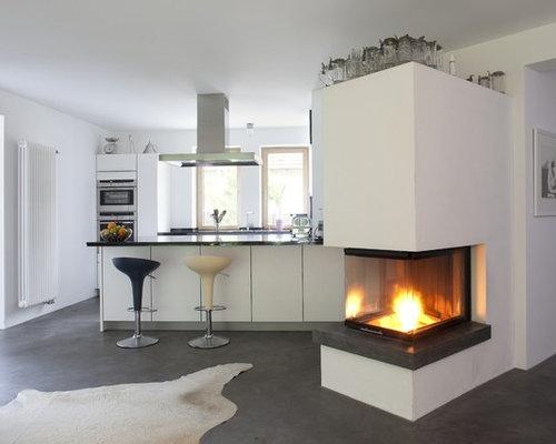 Moderne küchen mit halbinsel  Offene Küche mit Halbinsel - Ideen & Bilder