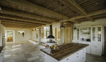 Landhausküche in schweizer Bauernhaus
