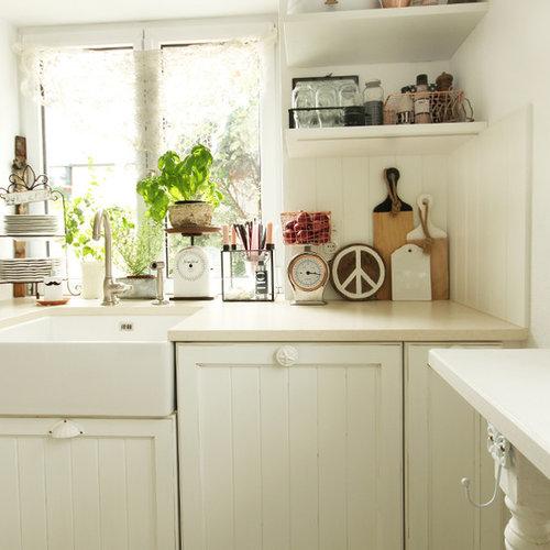 Cucina con top in marmo Monaco di Baviera - Foto e Idee per ...