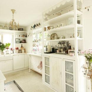 Cucina a L shabby-chic style Germania - Foto e Idee per ...
