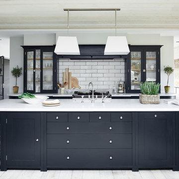 Landhausküche Suffolk in Charcoal