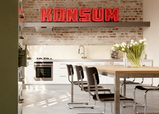 Industrial Kitchen by Eilmann Architekt