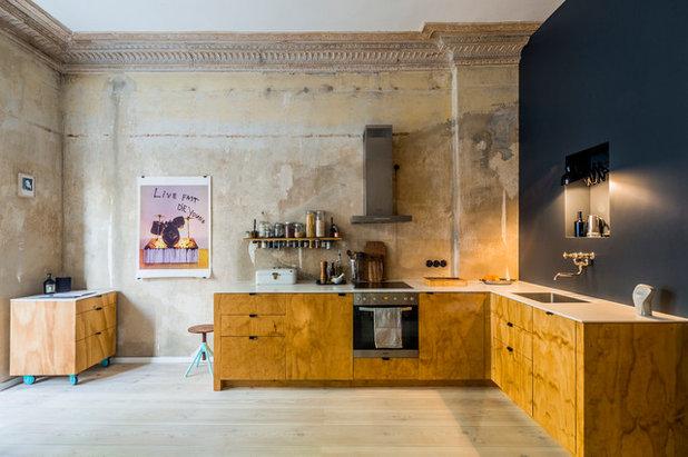 Лофт Кухня by ZENTRALNORDEN