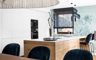Geschickt versteckt: Eine offene Küche mit kleinen Geheimnissen