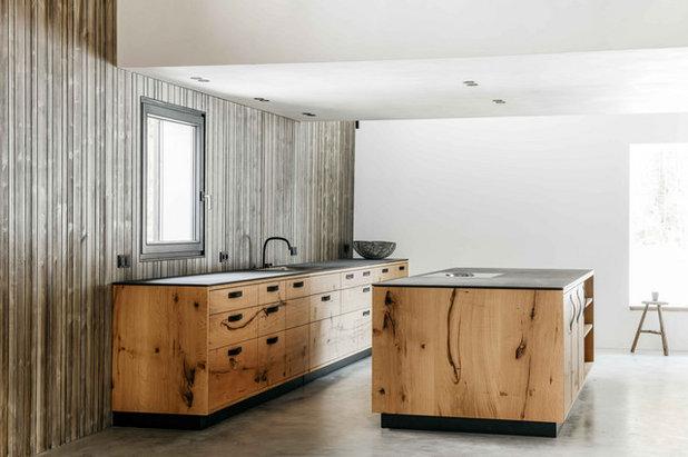Rustikal Küche by BUERO PHILIPP MOELLER